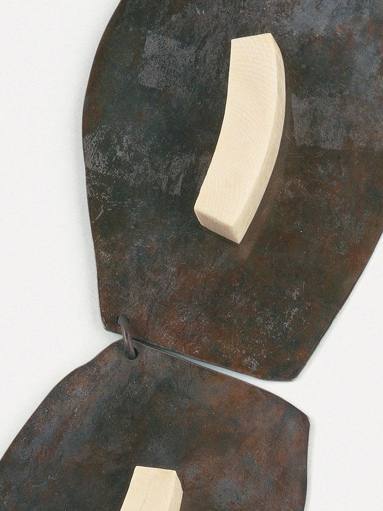 Dorothea Prühl - Dorothea Prühl - Collier Titankette II (1997) - Detail
