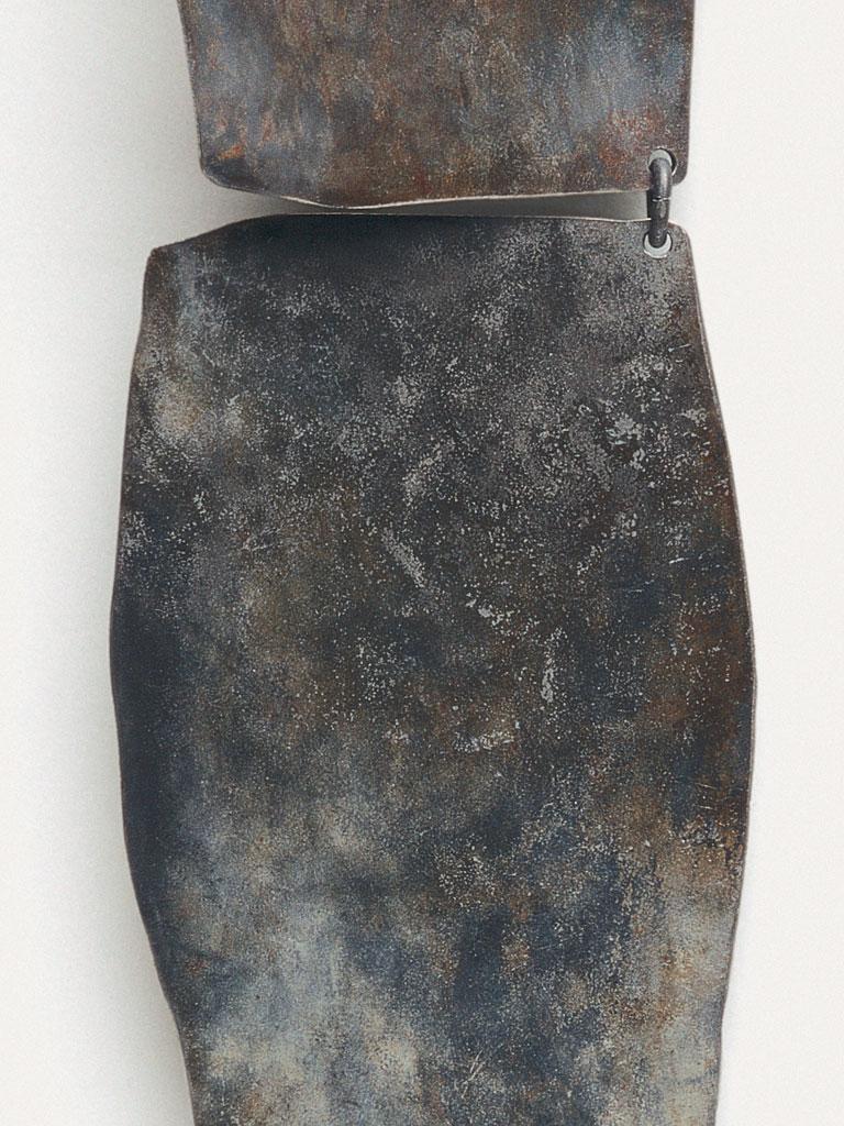 Dorothea Prühl - Collier Titankette I (1997) - Detail