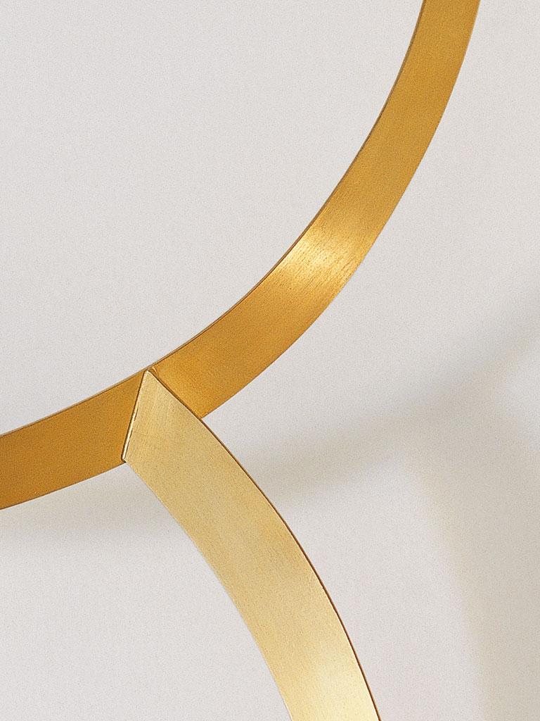 Dorothea Prühl - Collier Zwei Reifen (1998) - Detail