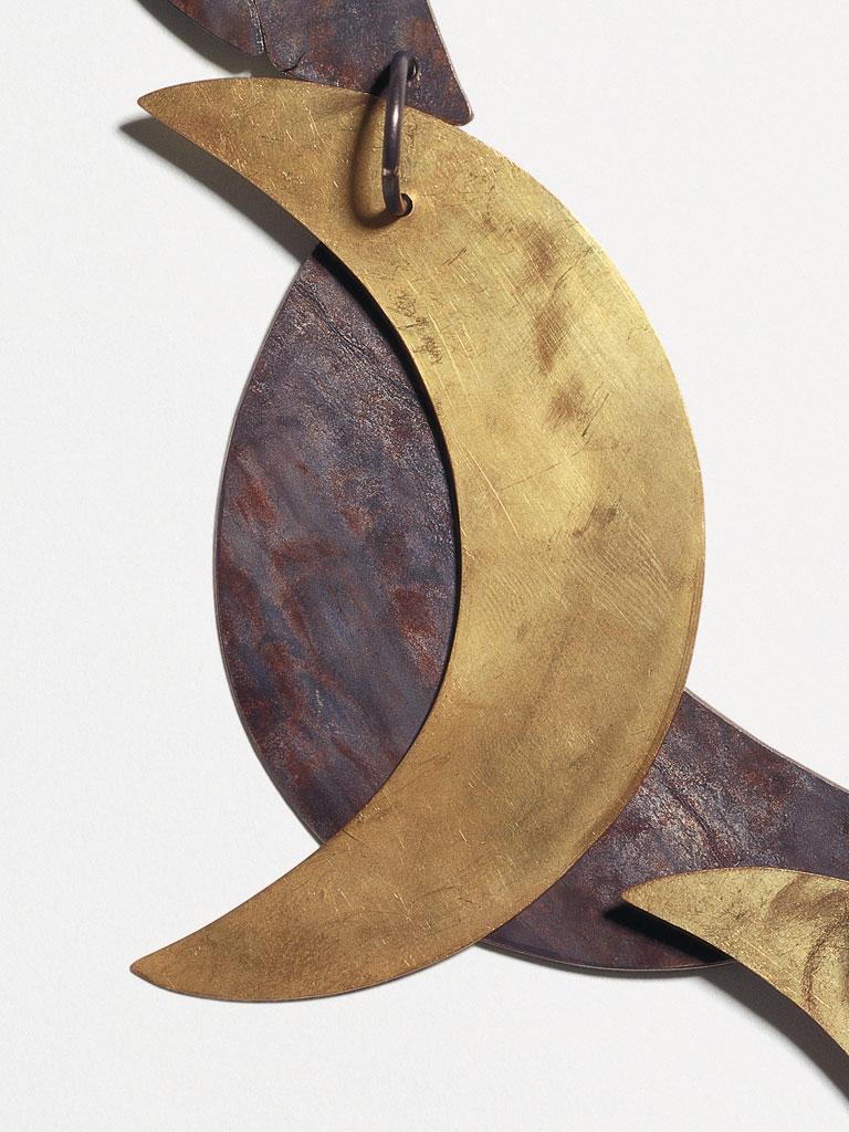 Dorothea Prühl - Collier Mond (2003) - Detail