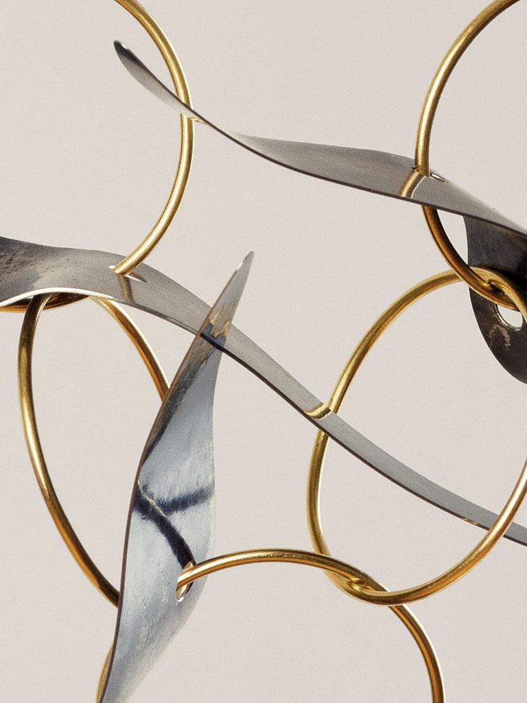 Dorothea Prühl - Collier Vögel in der Luft (2007) - Detail