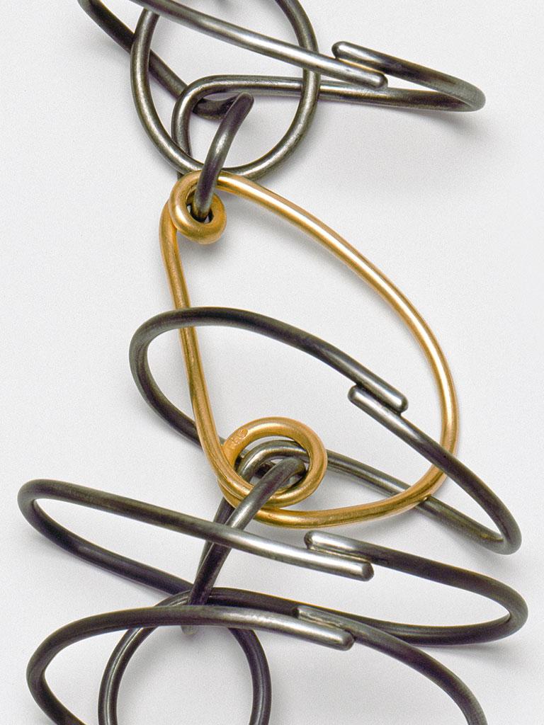 Dorothea Prühl - Collier Fisch (2013) - Detail